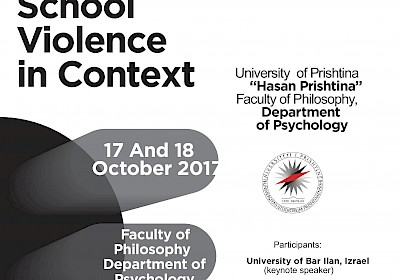 Presentations - Materials from International Symposium School Violence in Context